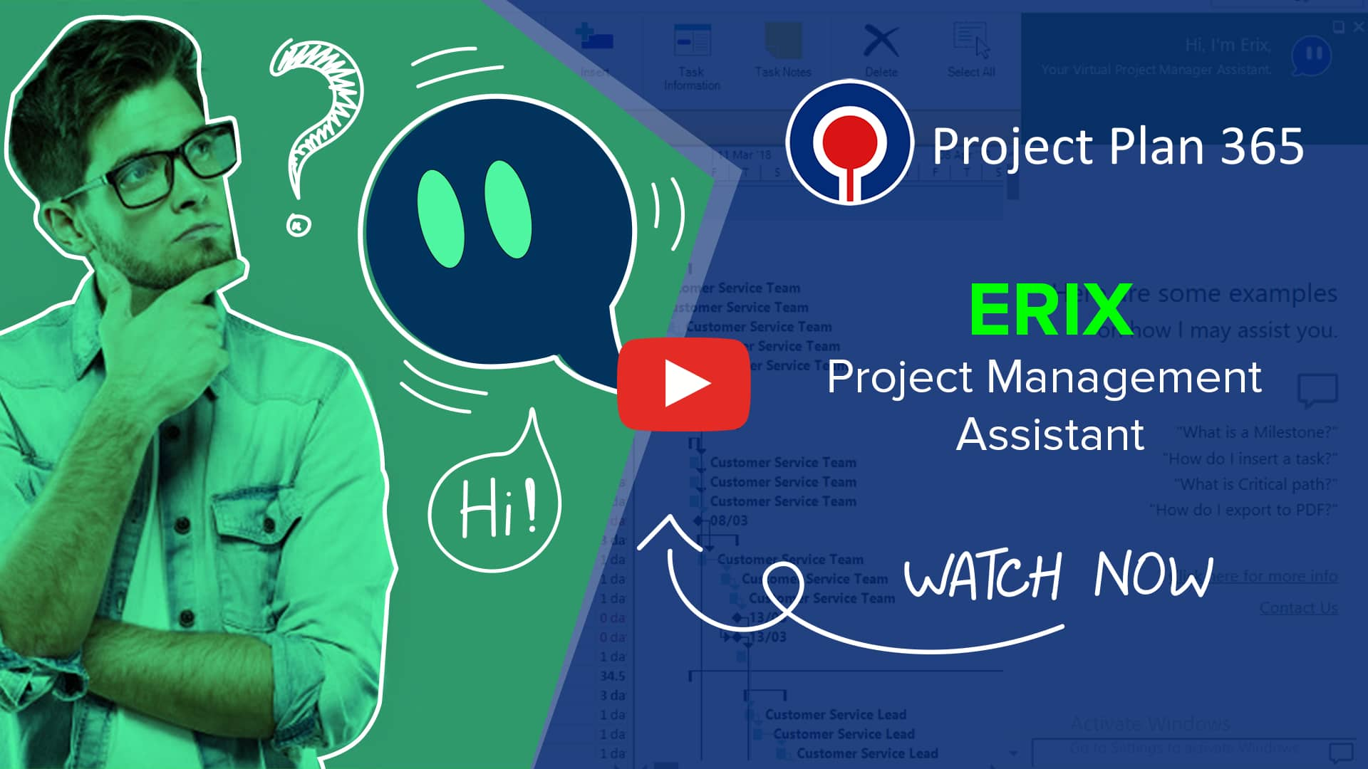 Erix Project Management Assistant