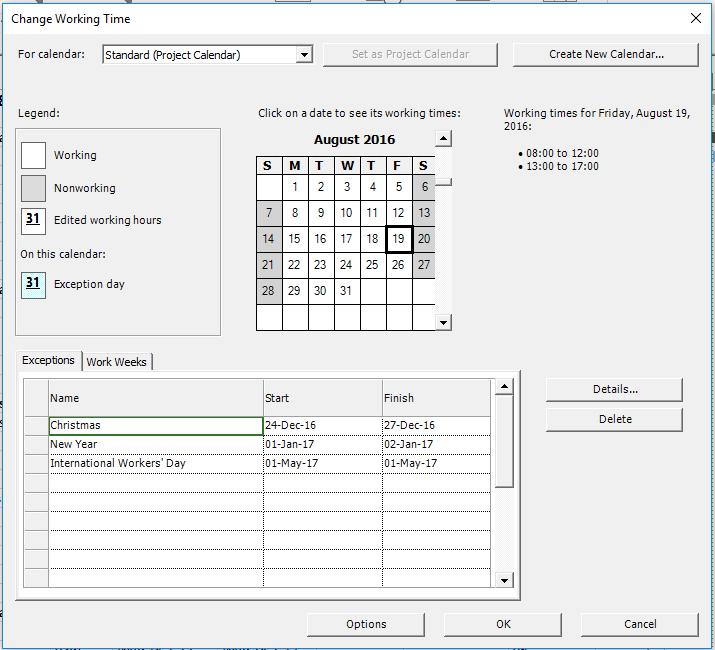 lesson 4 custom calendar project plan 365