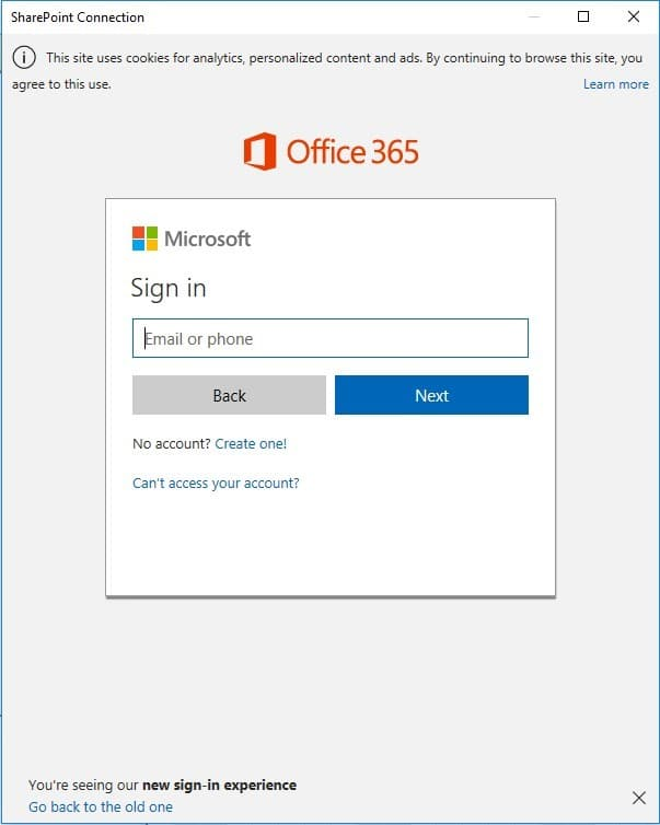Open from SharePoint Online – Project Plan 365