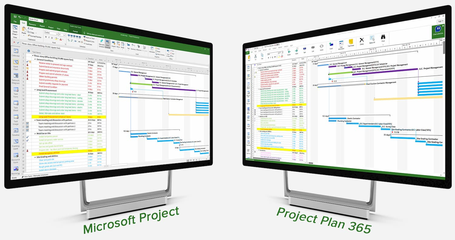 Microsoft Project vs Project Plan 365