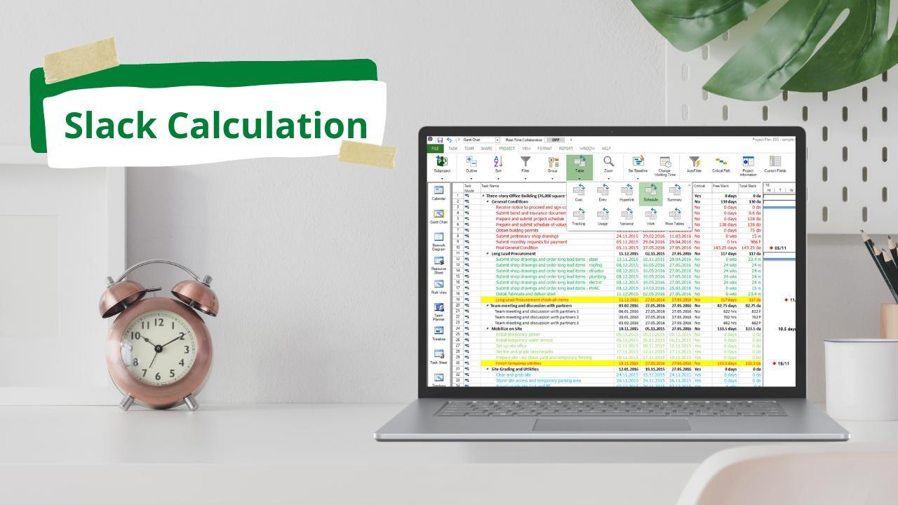 Slack Calculation